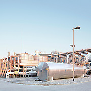 Corporate photography on gas treatment plant in Norway