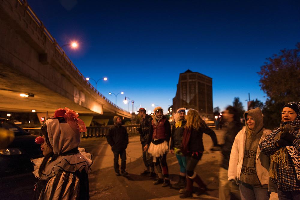 Blais Entier, Viaduc Saint-Laurent / Van Horne, Samedi 17 octobre 2015