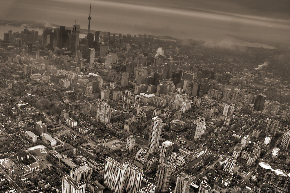 Aerial View, City of Toronto