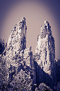 The Cathedral Spires, Yosemite National Park, California