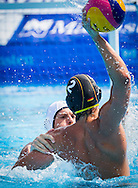 2 BUKOWSKI Erik GER<br /> France (White) Vs Germany (Blue)<br /> LEN European Water Polo Championships 2014 - July 14-27<br /> Alfred Hajos -Tamas Szechy Swimming Complex<br /> Margitsziget - Margaret Island<br /> Day08 - July 21<br /> Photo Pasquale Mesiano/Inside/Deepbluemedia