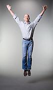 Jeff Bezos CEO Amazon.com Jeff Bezos, CEO of Amazon.com.  Photographed in studio setting for Businessweek Magazine, 2006-10.