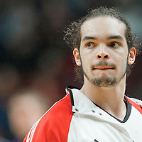 21 December 2009: Chicago Bulls center Joakim Noah is seen during the Sacramento Kings 102-98 victory over the Chicago Bulls at the United Center, in Chicago, Illinois, USA.