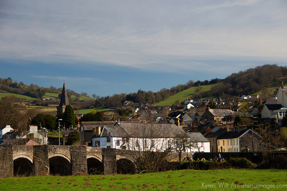 Europe, United Kingdom, Wales, Crickhowell. Crickhowell village in Powys Wales.