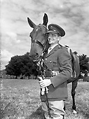 1952 - Members of the Defence Forces at the Army Equitation School McKee Barracks
