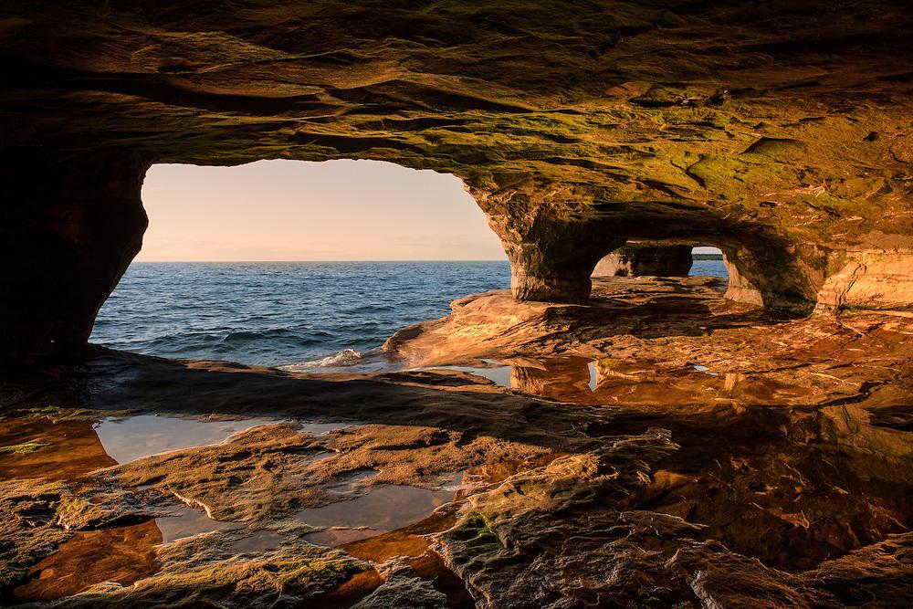 Lake Superior<br /> Michigan's Upper Peninsula