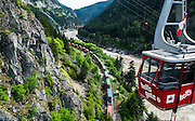 Location: Hell's Gate,  Fraser River Canyon. British Columbia, Canada