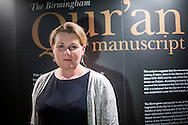 Susan Worrall, Director of Special Collections (Cadbury Research Library), at the University of Birmingham.<br /> ___<br /> <br /> A Qur&rsquo;an manuscript held by the University of Birmingham has been placed among the oldest in the world thanks to modern scientific methods.<br /> <br /> Radiocarbon analysis has dated the parchment on which the text is written to the period between AD 568 and 645 with 95.4% accuracy. The test was carried out in a laboratory at the University of Oxford. The result places the leaves close to the time of the Prophet Muhammad, who is generally thought to have lived between AD 570 and 632.<br /> <br /> The Qur&rsquo;an manuscript will be on public display at the University of Birmingham from Friday 2 October until Sunday 25 October and then at the Birmingham Museum and Art Gallery in 2016.