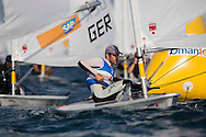 The Laser World Championships 2013 -  Standard. Mussanah Oman<br /> The final day of racing, Pavlos Kontides (CYP) shown here in action finishing 2nd overall in the championships<br /> Credit: Lloyd Images.