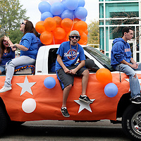 Boise State University homecoming parade before the University of Toledo football game on Saturday afternoon.