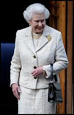 JUNE 10 2013 The Queen visits Duke of Edinburgh in hospital