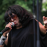 American Jazz/Soul Singer Jean Carn performs during the 27th DuPont Clifford Brown Jazz Festival Saturday, June 20, 2015, at Rodney Square in Wilmington, Delaware.
