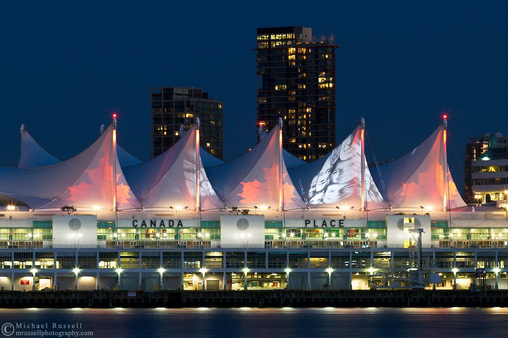 Canada Place in Vancouver is currently a trade and convention center, as well as a cruise ship port, but during Expo '86 it was the Canadian Pavillion.