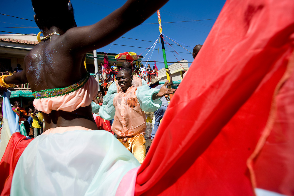 Carnival, Jacmel, Haiti. 2/15/2009 Photo by Ben Depp