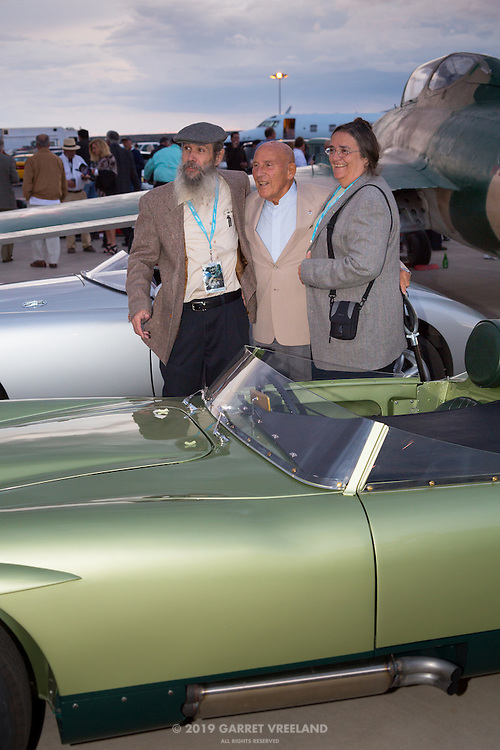 Sir Stirling and 1958 MG EX 186's owners.