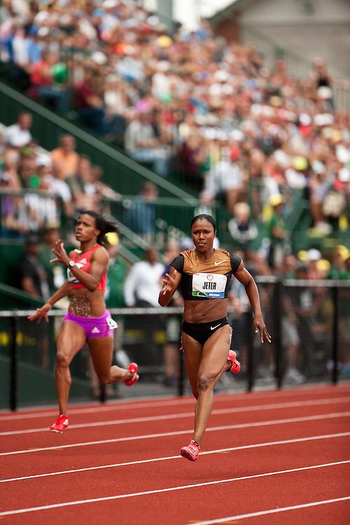 2012 USA Track & Field Olympic Trials: Carmelita Jeter,