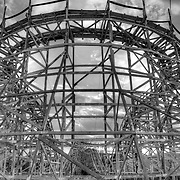 Images of Joyland.Now abandoned amusement park in Wichita, KS..January 22, 2012