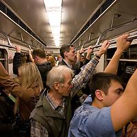 RUSSIA - Russland - MOSCOW, MOSKAU; METRO, public transport;      © Christian Jungeblodt