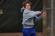 Oxford's Zach Wilder vs. Saltillo in high school tennis in Oxford, Miss. on Thursday, March 10, 2011.
