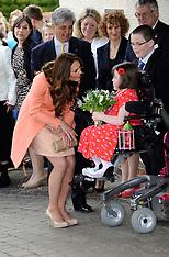 APR 29 2013 Duchess of Cambridge visits Naomi House Children's Hospice