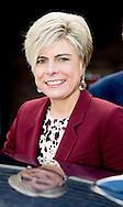21-1-2015 HOORN - Princess Laurentien of the Netherlands last Wednesday, January 21, 2015 to work at the National Library in Voorleesontbijt Hoorn. COPYRIGHT ROBIN UTRECHT