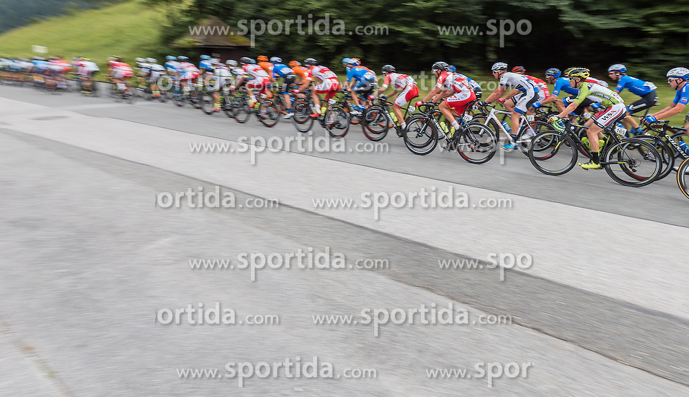 03.07.2016, XXX, AUT, Ö-Tour, Österreich Radrundfahrt, 1. Etappe, Innsbruck nach Salzburg, im Bild Übersicht Peleton // Overview Peleton during the Tour of Austria, 1st Stage from Innsbruck to Salzburg at XXX, Austria on 2016/07/03. EXPA Pictures © 2016, PhotoCredit: EXPA/ JFK