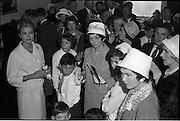 15/06/1961<br /> 06/15/1961<br /> 15 June 1961<br /> Royal Visit to Ireland by Princess Grace and Prince Rainier of Monaco. The royal couple at Westport, Co. Mayo. Princess Grace meets her relatives.