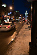 State Street in Madsion at Night
