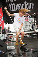 Awolnation. performing at Pointfest 30 on May 30, 2012 in St. Louis at Verizon Wireless Amphitheater.