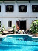 Pool at Satri House hotel..