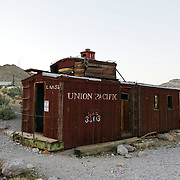 Ryolite Ghost Town, near Las Vegas Nevada, USA