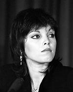 Pat Benatar 1982 at US Festival Press Conference.© Chris Walter.