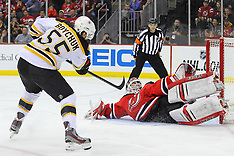 April 10, 2013: Boston Bruins at New Jersey Devils