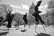 The STRUT parade took place in Madison,  Wisconsin  Saturday, May 2, 2015.