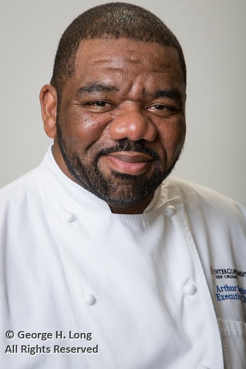 Arthur Batiste; InterContinental New Orleans Hotel Executive Chef