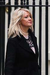 London, February 10th 2015. Ministers arrive at the weekly cabinet meeting at 10 Downing Street. PICTURED: Esther McVey, Minister of State for Employment