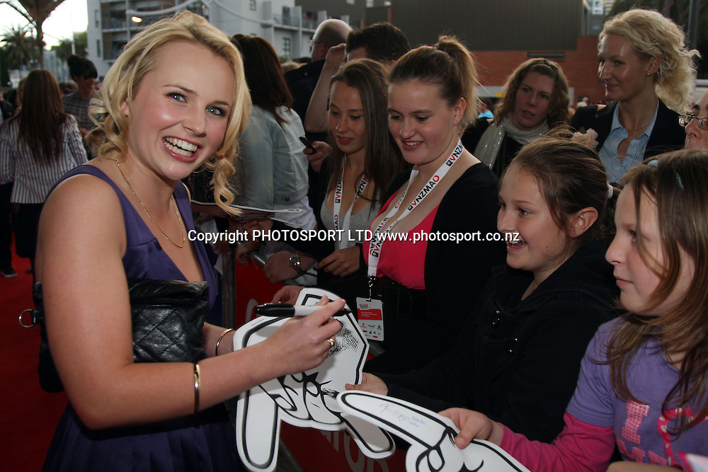 Shortland st actress Kimberly Crossman.<br />
