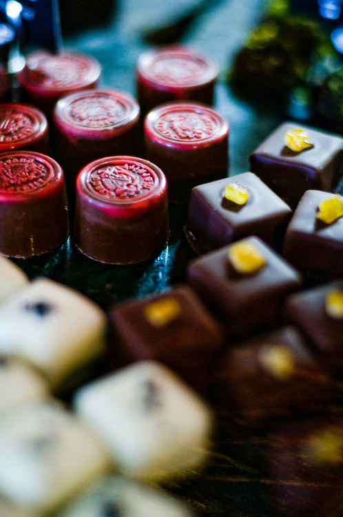 Danish chocolatier Fritz Knipschildt owns and runs Chocopologie, a small chocolate factory in Norwalk, Connecticut, that produces among other things, the world's most expensive chocolate truffle ($250/piece).