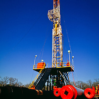 Drilling rig, Texas