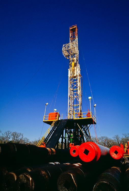Drilling rig, Texas