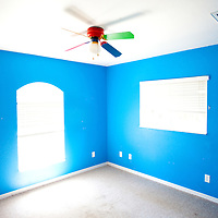 TAMPA, FL -- March 22, 2011 -- An empty child's room is seen in a vacant home for sale in North Port, Fla., 2011.  A recent study showed that one and five homes in the state of Florida is vacant.