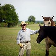 8/13/08 11:06:22 AM -- Seneca, Md., U.S.A..Austin Kiplinger photographed at his farm in Seneca, Md., on Wednesday, Aug. 13, 2008...Photo by Jay Westcott, Freelance.