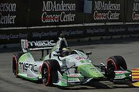 Sebastien Bourdais, Shell Houston GP, Reliant Park, Houston, TX USA 6/29/2014