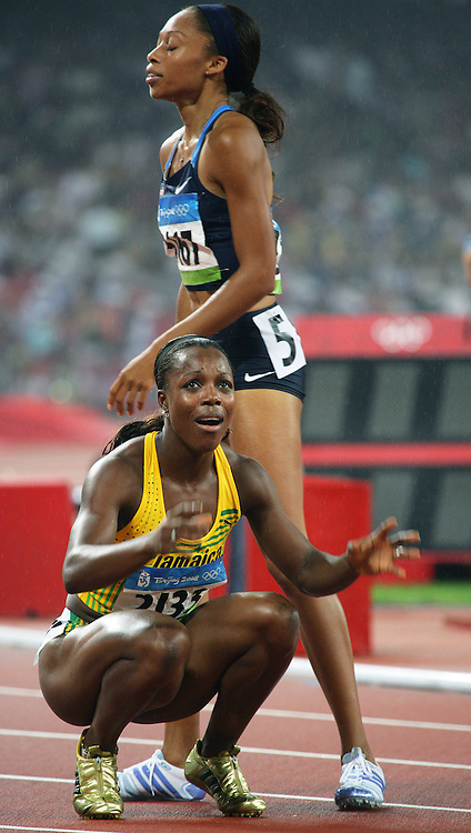 2008 Beijing Olympic Games- Day 7 - Evening- August 21st, 2008 *** Veronica Campbell, Jamaica, 200m *** Day 7