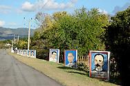 Revolutionary signs in Guantanamo, Cuba.
