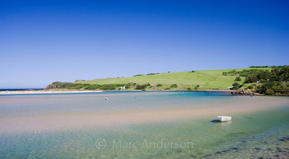 Minnamurra Lagoon, Kiama, Australia