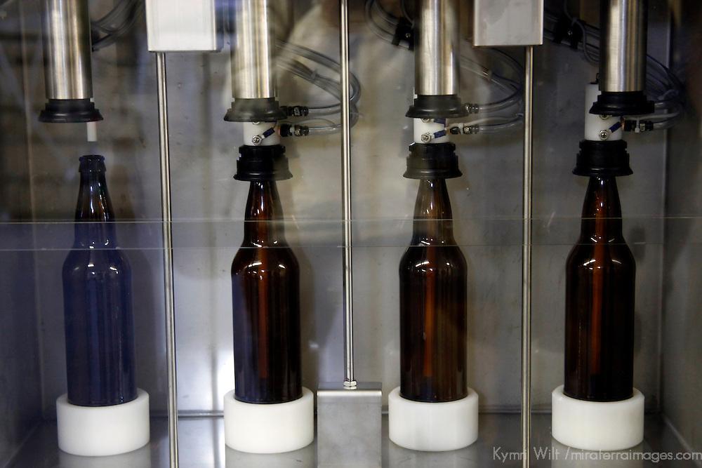 Canada, Nova Scotia, Guysborough. Microbrewery Bottling (small-scale).