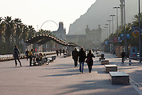 Passeig de Colom Barcelona Photography shoot in 2008 by Christopher Holt