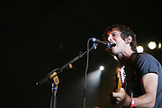Sam Roberts performs during the first day of the 2007 Bonnaroo Music & Arts Festival on June 14, 2006 in Manchester, Tennessee. The four-day music festival features a variety of musical acts, arts and comedians. Photo by Bryan Rinnert