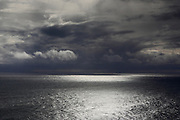 Moody skies off the coast of Dyrhlaey in Southern Iceland